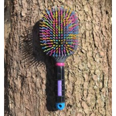 Professionals Choice Tail Tamer Rainbow Paddle Brush Mähnenbürste